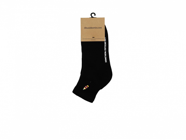 Blank Half Socks 2 Pack