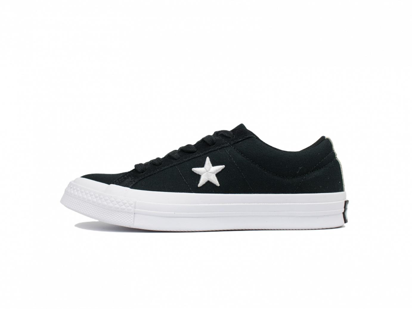 one star ox black white